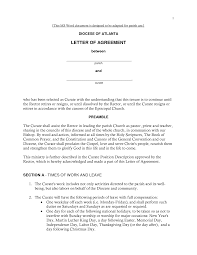 Agreement Letters Sample letter of loan agreement Sample letter of agreement pbs 1
