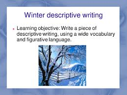 winter words descriptive writing by maz teaching resources tes