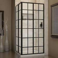 framed glass shower doors. French Corner 34-1/2 In. X In Framed Glass Shower Doors