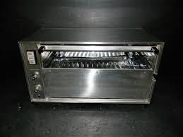 vintage general electric rotisserie