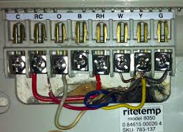 wiring diagram for ritetemp thermostat wiring wiring a ritetemp thermostat wiring diagram on wiring diagram for ritetemp thermostat