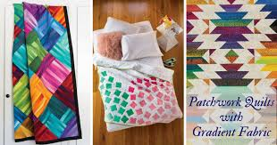 Make a Patchwork Quilt with Gradient Fabric - Quilting Daily - The ... & Im sure weve all seen more than a patchwork quilt or two that uses ombr or  gradient fabric. I find myself completely captivated by these quilts, ... Adamdwight.com