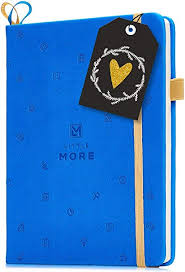 little more dot grid notebook 4 colors dotted notebook journal hardcover with thick paper
