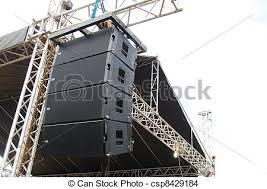 concert stage speakers. concert stage audio speaker - csp8429184 speakers