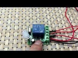 1 Channel <b>DC12V</b> Remote Control Switch - YouTube