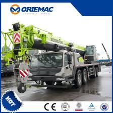 Zoomlion 80 Ton Hydraulic Mobile Truck Crane Qy80v532