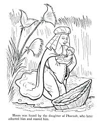 Coloring Pages Moses Coloring Pages Burning Bush Sheets Bible Ten