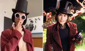 TikToker famous for dressing, talking like Johnny Depp's Willy Wonka &  doing sexy shirtless dances
