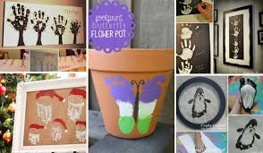 28 Most Fun Hand And Footprint Art Ideas For Home Decor Pictures Gallery