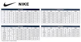 Nike Shoe Size Chart Women S Best Picture Of Chart