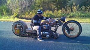 redneck limo rat bike chopper youtube