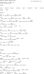 steely dan chord charts blues guitar lesson for deacon blues steely dan with chords tabs
