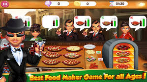 fast food maker cooking games pizza fast food maker kitchen chef on the app store