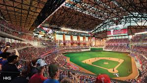 New Home Of The Texas Rangers Has A Climate Controlling