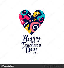 Invitation Card Design For Teachers Day Happy Teachers Day Logo Creative Template For Greeting Card