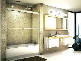 removing shower doors bathtub glass sliding door tub remove repair