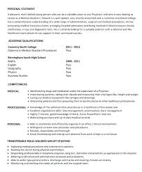 Resume Template For Medical Assistant Medical Assistants Resume ...