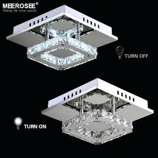 square led chandelier square led crystal chandelier light for aisle porch hallway stairs led light bulb square led chandelier