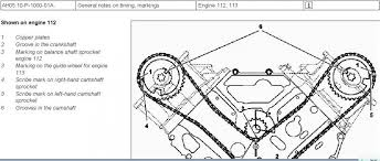 e240 v6 balance shaft timing marks mercedes benz forum click image for larger version snap1 jpg views 9830 size 58 5