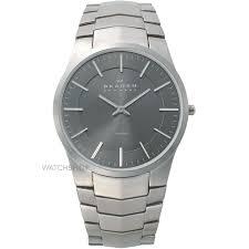 """men s skagen titanium watch 694xltxm watch shop comâ""""¢ mens skagen titanium watch 694xltxm"""