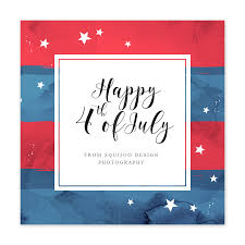 4th July Wish Template