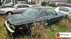 BMW Convertible bmw for sale japan : Spotted in Japan: An abandoned 1974 BMW 3.0 CS - YouTube