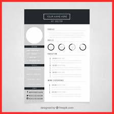 Cute Word Templates Good Resume Format