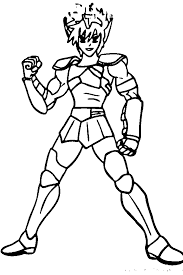 knights of the zodiac coloring pages free coloring