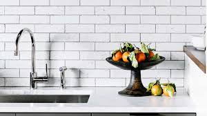 Vertical Tile Backsplash Extraordinary 48 Inventive Kitchen Backsplashes SFGate