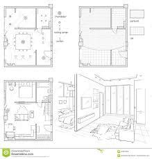 interior design floor plan sketches. Download Digital Illustration Floor Plan And Room Sketch. Stock  - Of Plan, Interior Design Floor Plan Sketches E