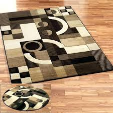 black and beige area rugs brown magnificent contemporary modern abstract rug bei