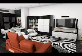 image of modern area rugs for living room 4 6
