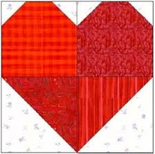 Best 25+ Heart quilt pattern ideas on Pinterest | Heart quilts ... & Scrappy hearts quilt squares - would be very cute