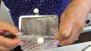 coin purse clasp installation tutorial