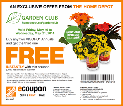 the home depot canada has a new great garden club