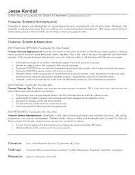 Series 6 Resume Download Financial Advisor Resume How To List Series ...