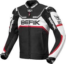 berik supermatic motorcycle leather jacket