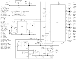 bvm1 12 volt battery voltage monitor bvm1 schematic