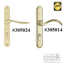 O Pella Storm Door Hardware With Curved Handle And Mortise Lock  Choose Color