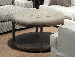 attractive round upholstered coffee table with round upholstered coffee table