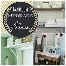 Bathroom Storage For Small Bathrooms 30 Small Bathroom Storage