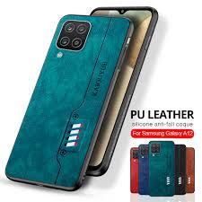 A12 Ốp Lưng Da Lưng Điện Thoại Có Cho Samsung A12 12 Chống Sốc Vải Viền Mềm  Dành Cho Samsung Galaxy A12 Sm a125f/Ds 6.5''|Phone Case & Covers