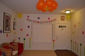kids simple birthday decoration ideas at home amazing neabux com