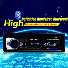Máy Nghe Nhạc MP3 OEM Có Bluetooth Dàn Âm Thanh Nổi 4X60W Đài Phát Thanh Xe  Hơi 12V Đầu Vào 1 Din FM Aux