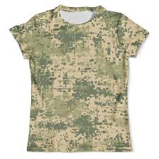"Футболка с полной запечаткой (мужская) ""Military"" #2641673 от ..."