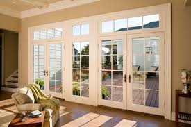 wood sliding patio doors wooden french lovely throughout decor 14