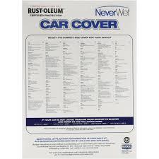 Rust Oleum Car Cover Rust Oleum Neverwet Car Cover Size 5