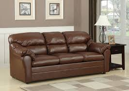 Popular of Leather Sofa Sleepers Connell Brown Bonded Leather Match Sofa  Sleeper Contemporary