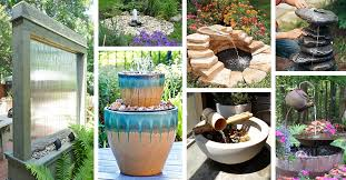 24 simple and serene diy water feature ideas you ll love