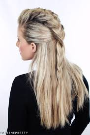 Half Ponytail Hairstyles 31 Easy Ways To Put Your Hair Up Beyond A Basic Ponytail